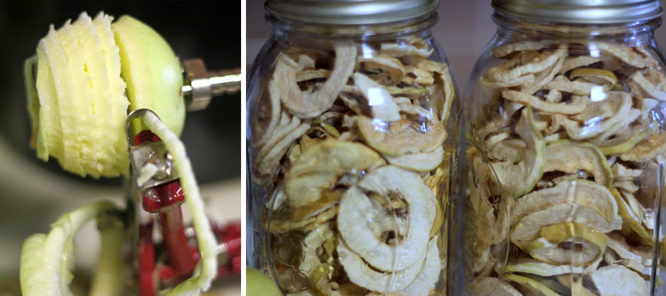 Lille Punkin Apple Chips How to Dehydrate Apples